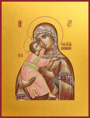 купить икону Владимирской Божьей Матери