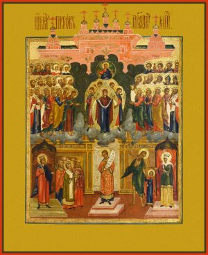 купить икону Покров Пресвятой Богородицы