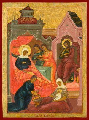 купить икону Рождество Пресвятой Богородицы
