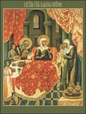 купить икону Рождество Иоанна Предтечи