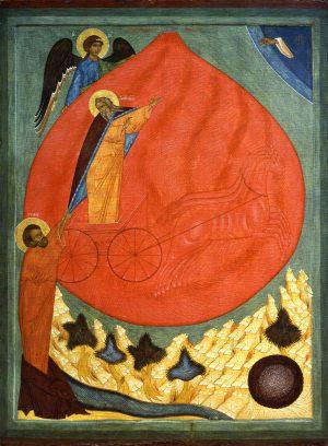 купить икону Илия пророк