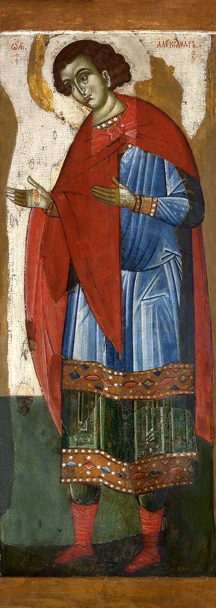 купить икону Александр Солунский