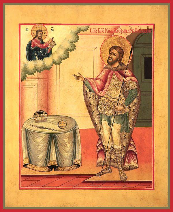 купить икону Александр Невский