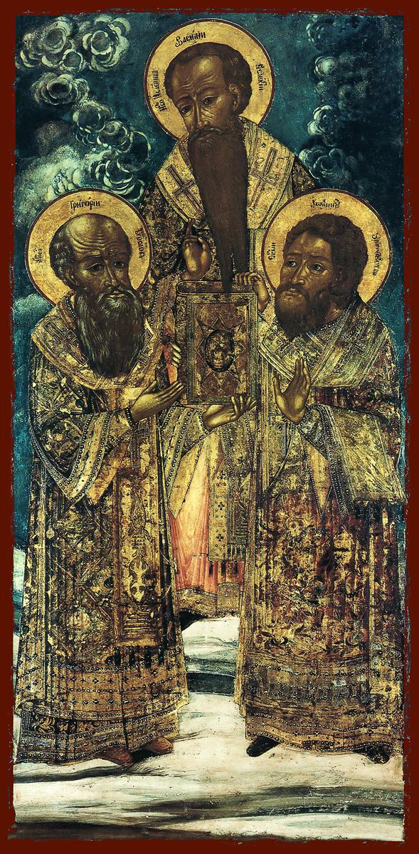 купить икону Василий, Григорий, Иоанн святители