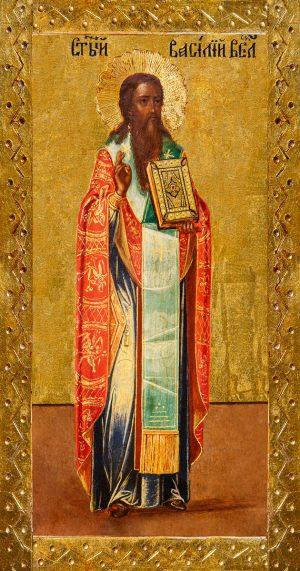купить икону Василий Великий