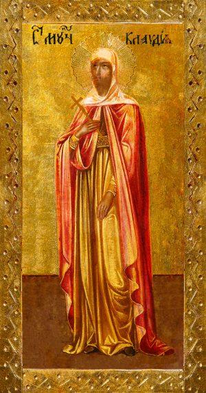 купить икону Клавдия Римская