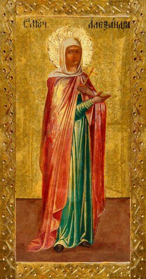 купить икону Александра Римская