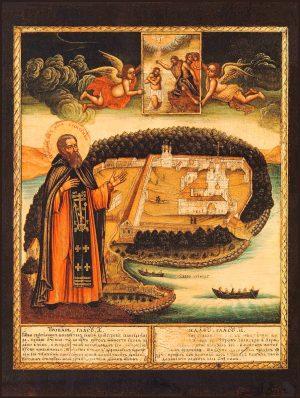 купить икону Нил Столобенский