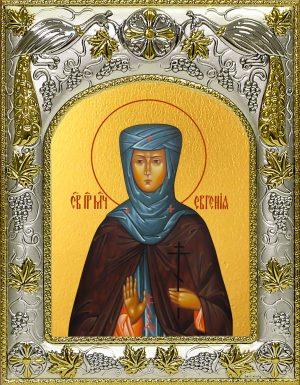 купить икону Евгения преподобная