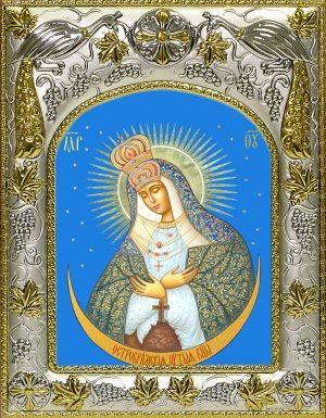 купить икону Божьей Матери Остробрамская