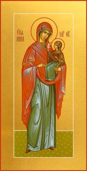 Мерная икона Анна, мать Пресвятой Богородицы, праведная