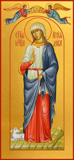 Мерная икона Агния Римская дева мученица
