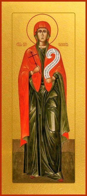 Мерная икона Параскева Пятница мученица