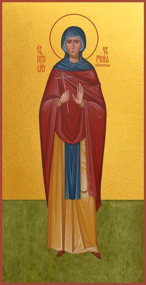 Мерная икона Евгения Римская преподобномученица