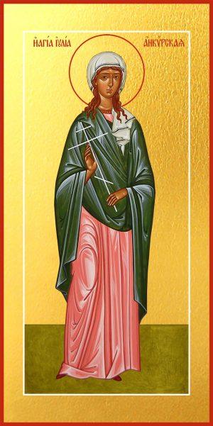 Мерная икона Иулия Анкирская (Коринфская), дева мученица