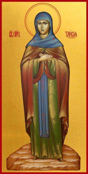 Мерная икона Таисия Египетская (Фиваидская) преподобная