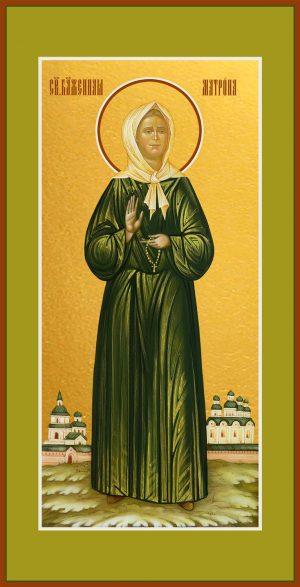 Мерная икона Матрона Московская блаженная