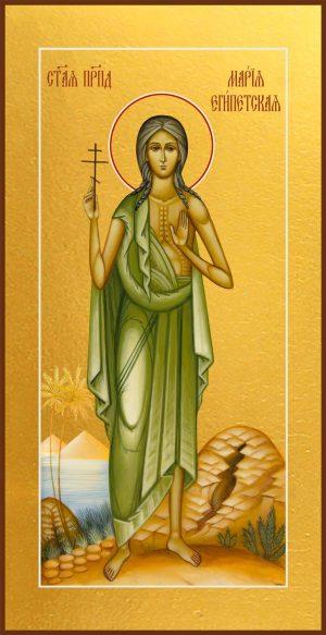 Мерная икона Мария Египетская преподобная