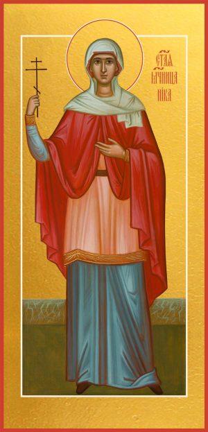 Мерная икона Виктория (Ника) Коринфская мученица