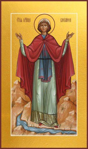 Мерная икона Василиса Никомидийская мученица