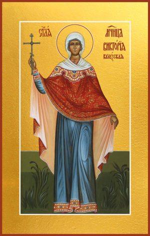 Мерная икона Виктория Кулузская, мученица