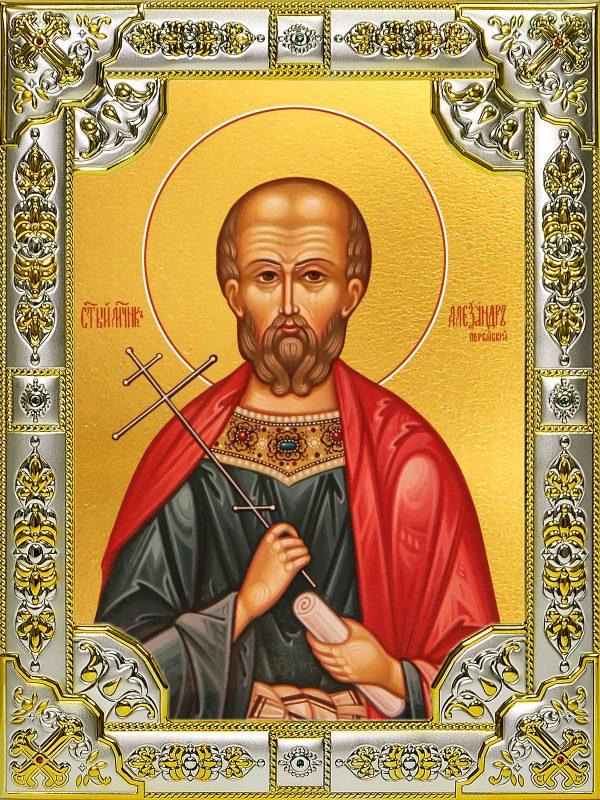 купить икону святой Александр Пергийский
