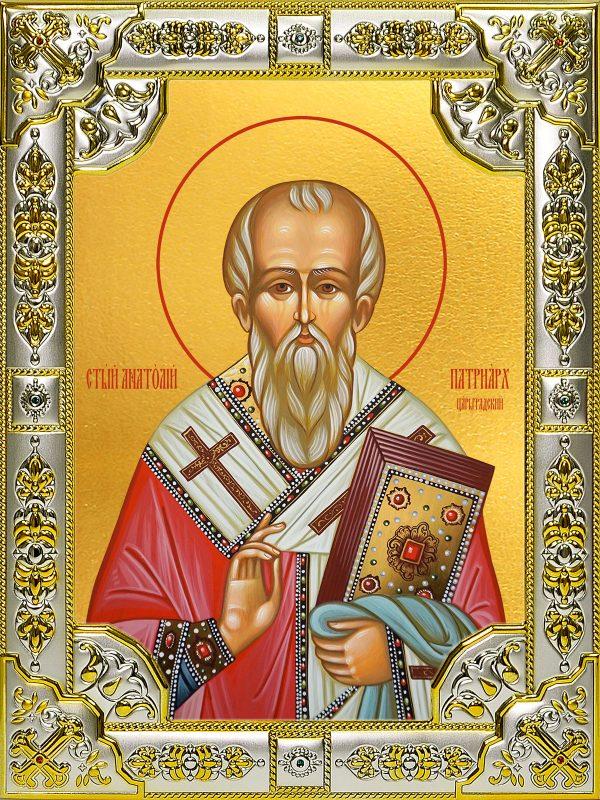 купить икону святой Анатолий Константинопольский