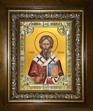 купить икону святой Геннадий Новгородский