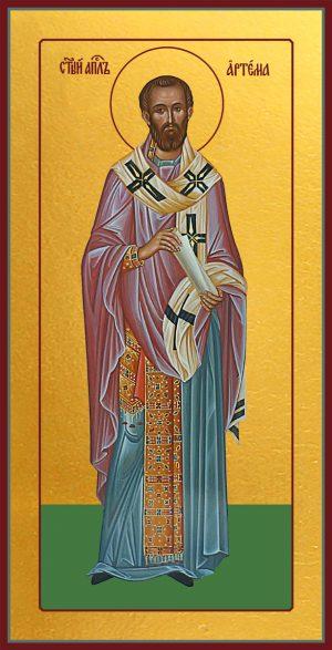 купить икону святой Артема апостол