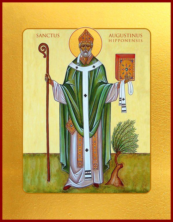 купить икону Августин Иппонийский
