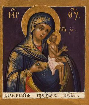 купить икону Божией Матери Долинская