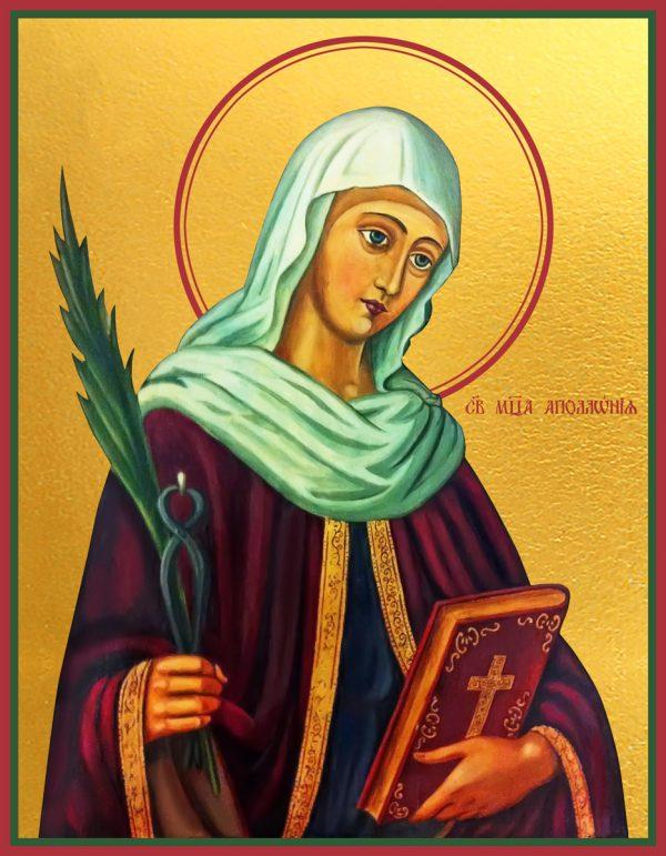 купить икону Аполлония Александрийская