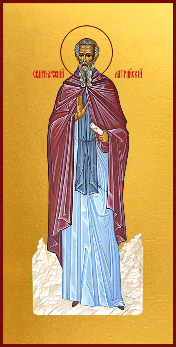 купить икону святой Арсений Латрийский