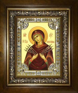 купить икону Божья Матерь Семистрельная