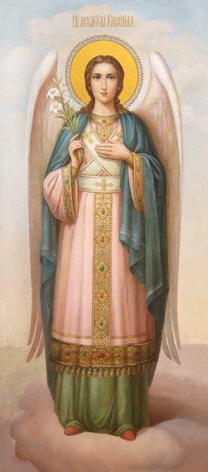 Мерная икона Гавриил Архангел