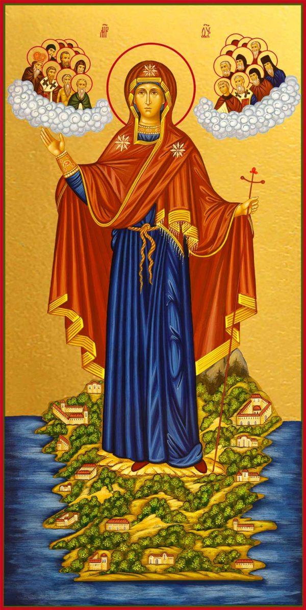 купить икону Божией Матери Игуменья святой горы Афонской