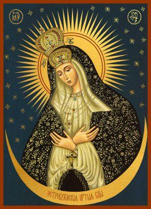 купить Остробрамскую икону Божьей Матери