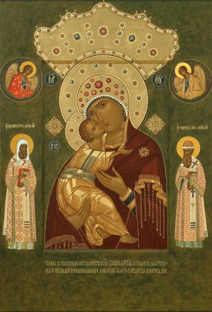 купить Волоколамскую икону Божьей Матери