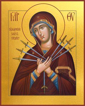 купить икону Божьей Материкупить икону Умягчение злых сердец