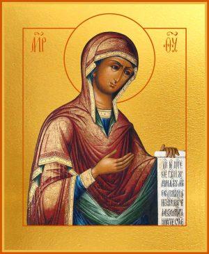 Купить Деисусную икону Божией Матери