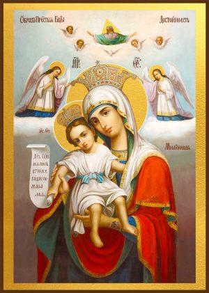 купить икону Божьей Матери Достойно есть