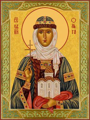 купить икону святая Ольга равноапостольная княгиня