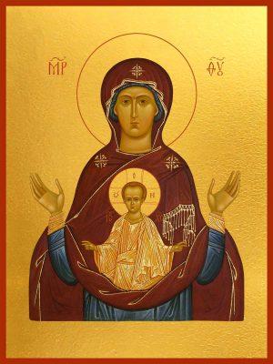 купить икону Знамение Божьей Матери