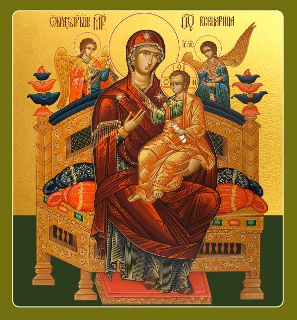 купить икону Божией Матери Всецарица