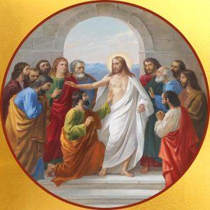 купить икону Уверение Фомы