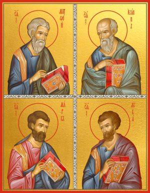 купить икону Икона Матфей, Иоанн, Марк и Лука святые апостолы и евангелисты