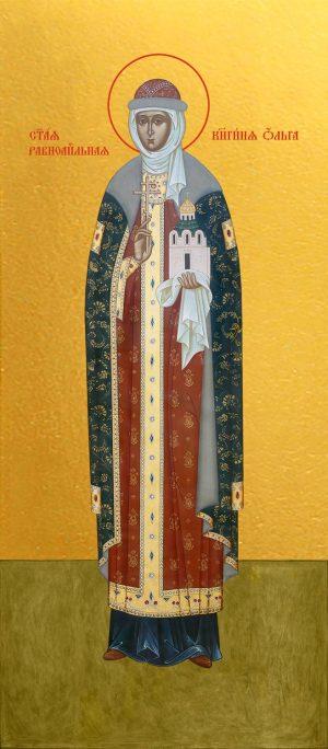 купить икону святой Ольги Равноапостольной Великой княгини
