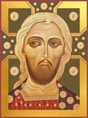 Купить икону Спас золотые власы