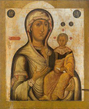 купить икону Одигитрия икона Божией Матери