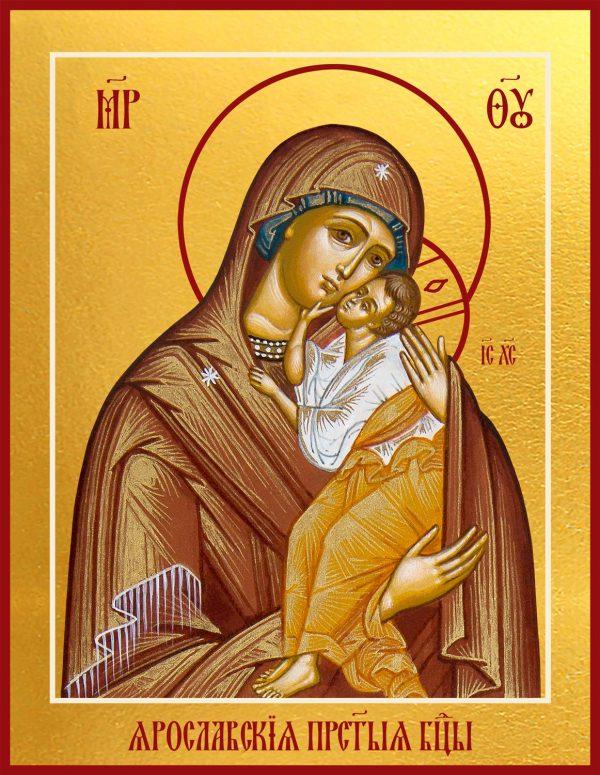 Купить Ярославскую икону Божией Матери